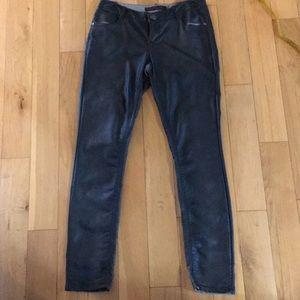 Ombré Faux Leather Pants